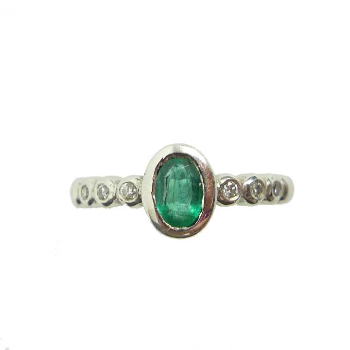 platinum htm carat p cut gold stone emerald yellow ring
